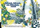 Advent, Advent - ein Mäuslein rennt: Ein Adventskalender zum Vorlesen und Ausschneiden
