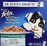 Felix Portionsbeutel Multipack So gut wie es ausssieht Fisch, 24er Pack (24 x 100 g)