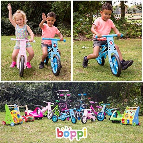 boppi® Wooden Balance Bike – Hand Print
