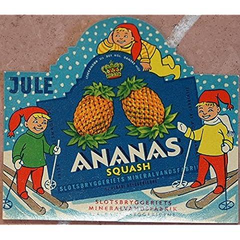 ananas squash slotsbryggeriets mineralvandsfabrik albani bryggerierne