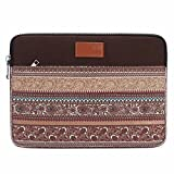 """Redhot Sleeve Bag Cover Case for MacBook Laptop 15"""" 15.4"""" 15.6""""inch Printed Brown"""