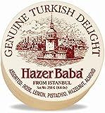Hazer Baba Assorted Turkish Delight Sweets in Wooden Drum...