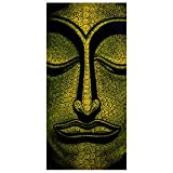 Apalis Raumteiler Buddha in Laos 250x120cm inkl. transparenter Halterung