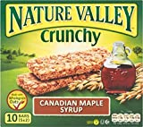 Nature Valley Crunchy Granola Bars - Canadian Maple Syrup (5x42g) - Packung mit 6