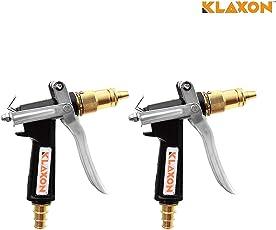Klaxon Water Spray Gun - Brass Nozzle Water Spray Gun For Car/Bike/Plants/Gardening Wash …