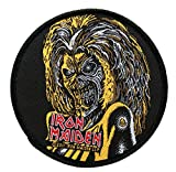 Unbekannt Iron Maiden Patch/badges - Killers Face Round - Iron Maiden Badges....