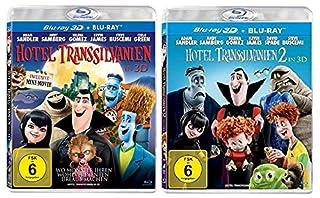 Hotel Transsilvanien 3D - 1+2 im Set - Deutsche Originalware [4 Blu-rays]