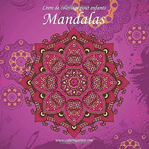 Livre de coloriage pour enfants Mandalas 2