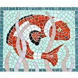 Martin Cheek Clownfischmosaik mit Fliesenzange