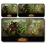 FJT World of Warcraft WOW Rogue Gaming Maus Pad versandkostenfrei Große Dicke Matte Büro Catcher Batch Cafe, , 75 * 40 * 0.3 cm