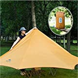 Naturehike Outdoor Sunshade Waterproof Awning Camping Shelter(orange)