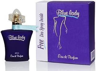 Rasasi Blue Lady Perfume EDP with Free Deo Spray, 40 ml