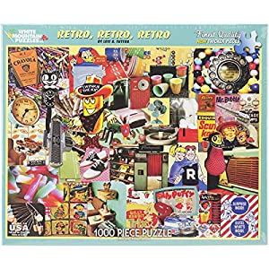 """White Mountain Puzzles Jigsaw Puzzle 1000 Pieces 24""""X30""""-Retro, Retro, Retro"""