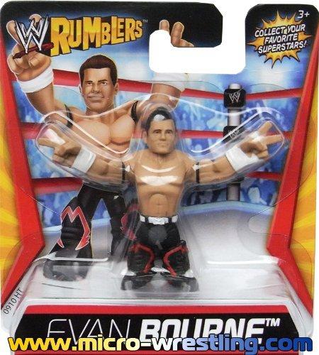 Evan Bourne Figurine WWE Rumblers 6cm MATTEL Wrestling V5817