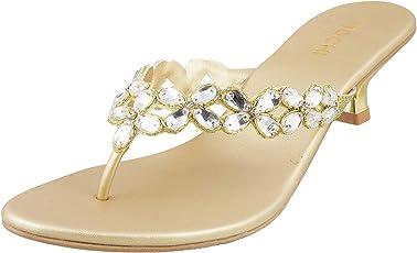 Mochi Women Synthetic Sandals (35-3522)