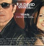 F.R. DAVID & WINDA - Words j'aime ces mots 5-track CARD SLEEVE - 1) Words j'aime ces mots 2) The keeper of the flame 3) Heat sting 4) Words 5) Everybody's got a dream - CDSINGLE