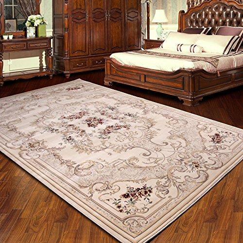 BAGEHUA personalizzata tappeti Turchi 1,5 milioni in Europa Soggiorno Tavolino tappeti camera da letto Scendiletto coperta finestra flottante coperta, Spot 1.6X2.3 M peso 22 Kg, kaki 7288UN OSSO