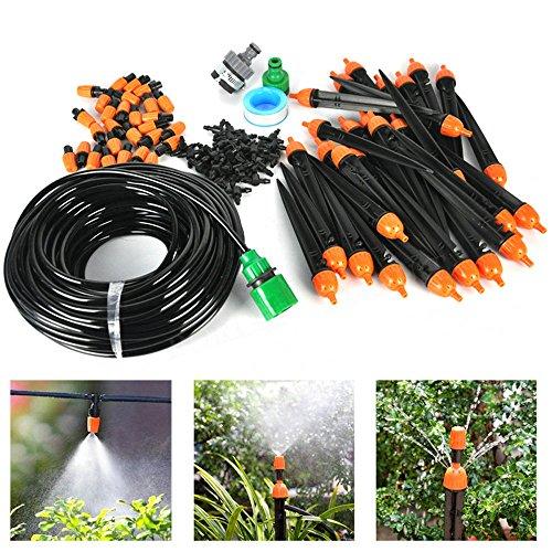 25m DIY Automatik Micro Drip Bewässerung Kit Garten Gewächshaus Bewässerung Spray Self Watering Kits