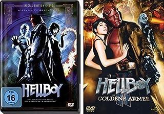Hellboy (2 DVDs) [Special Edition] & Hellboy II: Die goldene Armee im Set - Deutsche Originalware [3 DVDs]