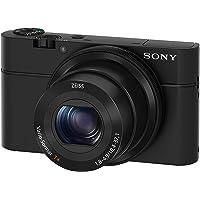 Sony RX100 Premium Kompakt Digitalkamera (20 MP, 7,6 cm (3 Zoll) Display, 1 Zoll Sensor, 28-100…