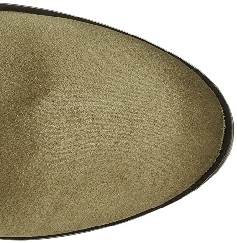 Buffalo Damen 2865 Micro Strech Stiefel Grün (Khaki 13)