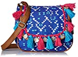 #3: Kanvas Katha  Women Sling Bag (Blue)(KKMTRI004)