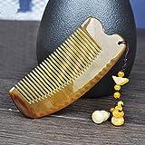 ZXLIFE Kamm ® natürlicher Yak-Hornkamm Antistatischer Haarverlust-Massagekamm Nettes Mädchenhornkamm , D