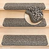 Metzker Stufenmatten Shaggy Venus New Rechteckig Grau 15 Stück