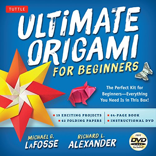 Beginners Kit: The Perfect Kit for Beginners-Everything You Need Is in This Box!: Kit Includes Origami Book, 19 Projects, 62 Orig ()