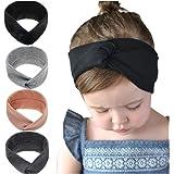 Freesiom Lot de 8 Bandeau Bébé Fille Cheveux Lapin Oreille Kawaii Elastique  Hairband Enfant Serre Tête 25f4f1c8776
