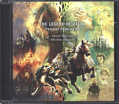 Chi Limited Edition (The Legend of Zelda Twilight Princess HD Sound Selection Soundtrack Music CD)