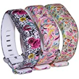Deruitu Replacement Wrist Band with Secure Clasp for Fitbit Flex No Tracker