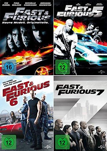 fast and the furious 7 dvd Fast and the Furious 4 - 7 Collection