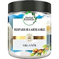 Herbal Essences PURE:renew Marokkanisches Arganöl Repair Haarmaske, 250 ml, Haarpflege Arganöl, Argan Hair Mask, Haarkur…