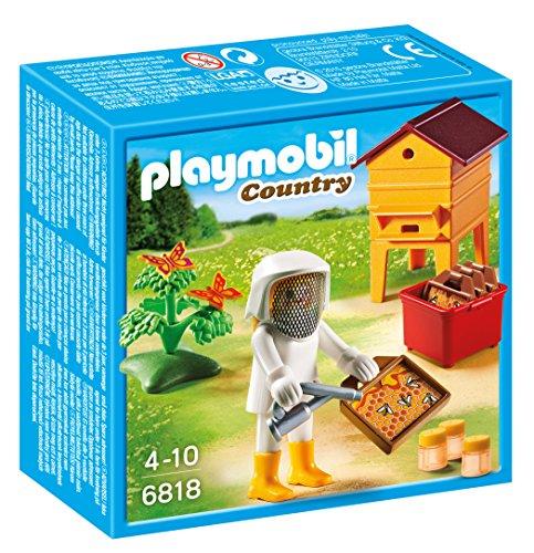 Playmobil 6818 - Apicoltrice con Arnia, Multicolore