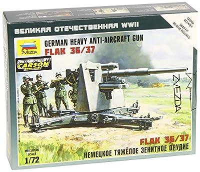 Zvezda 500786158 - 1:72 German Flak 36/37, 88 mm von Zvezda