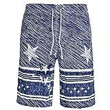 QinMM Hommes Shorts de Bain Boxer Trunks Bermuda, Séchage Rapide Respirant Plage...