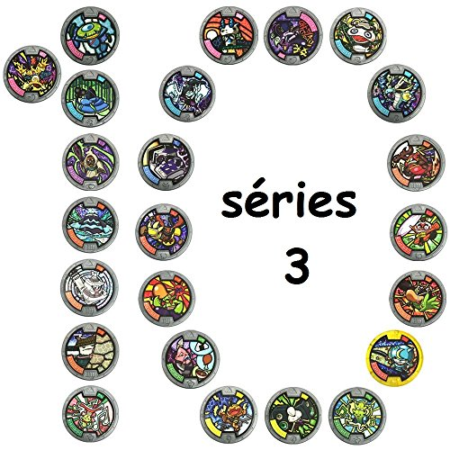 Yo-kai Watch Medal - Series 3 Mega Value 10 Pack (10x Random styles supplied)