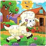 NPHOME Wooden Puzzle Educational Developmental Baby Kids Training Toy Christmas Cadeau pour BéBé Enfant à Partir De 3 Ans