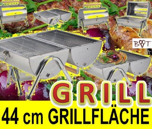 Preisvergleich Produktbild XL Set neu Edelstahl Grill Holzkohlegrill Klappgrill Gartengrill Picknickgrill