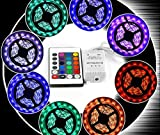 High Quality 5050 RGB LED Strip Light For House Party and Decorations Diwali Light Special (Non Waterproof)
