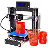Win-Tinten New Desktop 3D Printer, DIY 3D Printer Kits, High Accuracy Self-assembly, DIY