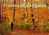 Promenade d'automne : Une promenade haute en couleurs et pleine de sérénité. Calendrier mural A3 horizontal 2016