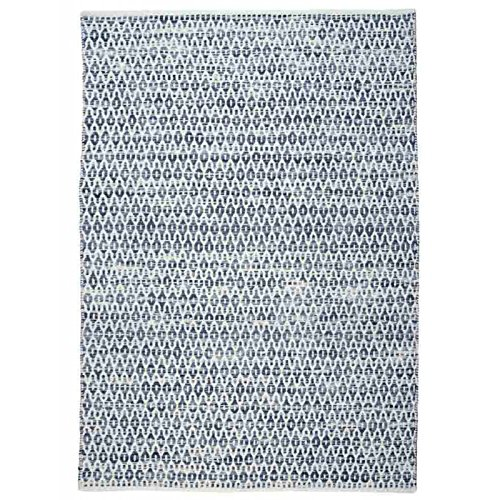 The Rug Republic Tapis Bedford Bleu