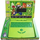 Fabofly Ben10 My Kids Super Slim English Learner Educational Notebook With 22 Fun Activities With Mouse Control