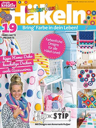 Simply Kreativ - Kunterbunt Häkeln: Bring' Farbe in dein Leben! - Häkeln Decken