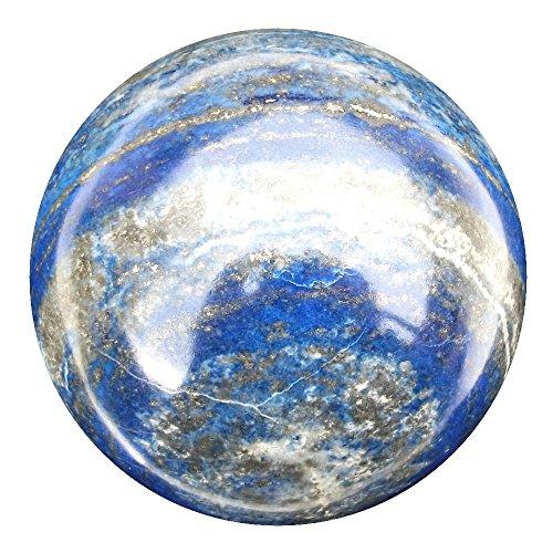 Green Cross Toad Grün Kreuz Kröte Lapis Lazuli Wahrsagen Kristallkugel Wahrsager Edelstein Kugel, 74mm, 670g (LB3) (Kristallkugeln Wahrsagen)