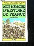AM D'HISTOIRE DE FRANCE (Ancienne Edition)