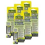 Petec_bundle 6X PETEC Power Stahl Knetmasse Flüssig Metall Kleber Metallkleber 50 G SB-Karte