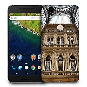 Snoogg Abstract Golden Building Printed Protective Phone Back Case Cover For LG Google Nexus 6P